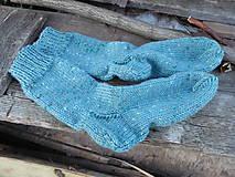 Obuv - Pánske ponožky- farby mora č.41-42 - 11064902_