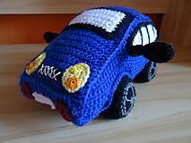 Hračky - Háčkované auto - 11065073_