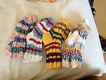 Obuv - pletene ponozky - 11061717_