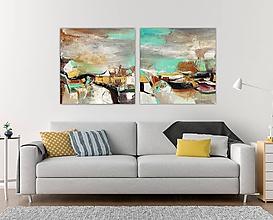 Obrazy - Séria Village, 160x80 - 11065086_