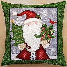 Úžitkový textil - Vianočná obliečka na vankúš - 11064993_