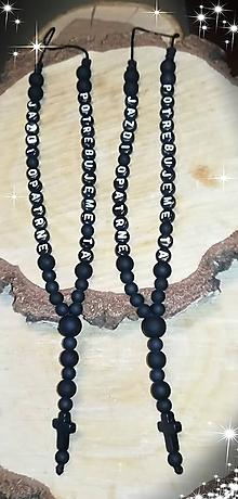 Iné šperky - Prívesok alebo amulet do auta Prívesok na želanie s textom menom alebo dátumom aj farebne podla vašeho priania - 11068361_
