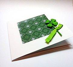 Papiernictvo - Pohľadnica ... šťastia kus - 11068772_