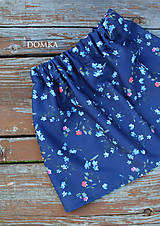 Detské oblečenie - Bavlnená dievčenská suknička - 11067008_