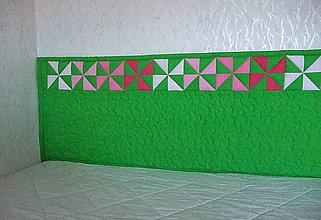 Úžitkový textil - Zástena Zelený veterník - 11066636_