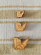 Odznaky/Brošne - Origami (brošňa) - 11067915_