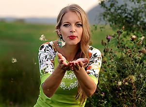 Tričká - Tričko Green Heart - 11067811_