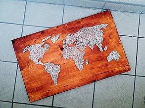 Obrazy - World map - 11067889_