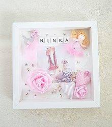 "Dekorácie - 3D obraz ""Ninka"" - 11067038_"
