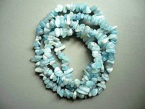 Minerály - Zlomky 90 cm - akvamarín - 11068063_