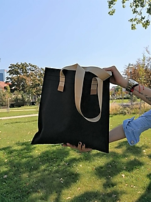 Veľké tašky - Washbag Black (Farba popruhu Grey) - 11069996_