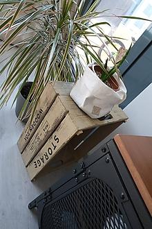 Košíky - Big home bag White - 11070019_