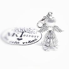 Náhrdelníky - Anjelik v sukničke - 11070479_