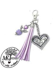 Kľúčenky - Prívesok na kabelku MAMA - 11070560_