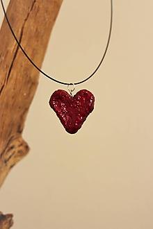 """Náhrdelníky - prívesok """"srdce"""" - 11070639_"""
