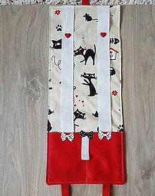 Úžitkový textil - Sponkovnik - veselé myšky - 11071286_