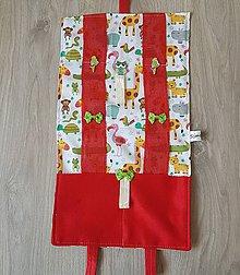 Úžitkový textil - Sponkovnik - veselé zvieratka - 11071305_