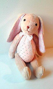Hračky - Zajačik na prianie aj s menom - 11069950_