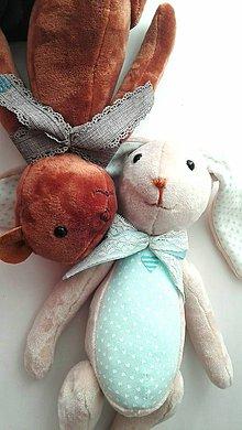 Hračky - Zajačik pre chlapčeka - 11070073_