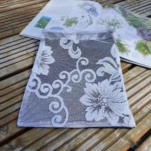 Úžitkový textil - Zero waste vrecúška dvoch tvárí (Tmavomodré) - 11070380_