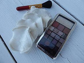 Úžitkový textil - Bambusové odličovacie tampóny-obojstranné - 11070839_