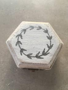 Prstene - Krabička na prstienky striebrenka - 11071396_