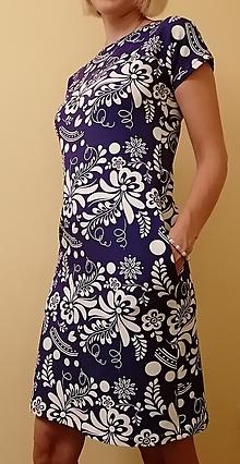 Šaty - Šaty s folk vzorom - 11070791_