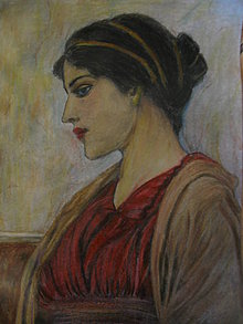 Kresby - Portrét dámy - 11069428_