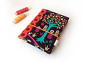 Papiernictvo - Zápisník Farebný so stromom - A6 - 11070135_