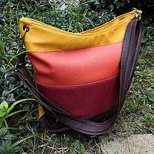 Veľké tašky - Kabelka koženková barevná - 11070430_