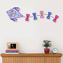Detské doplnky - Šarkan usmievavý (kruhy) - dekorácia - 11071314_