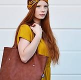 Veľké tašky - Ala (taška) cammel hnedá - 11074278_