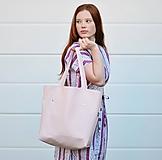 Veľké tašky - Ala (taška) svetloružová - 11074288_