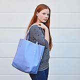 Veľké tašky - Ala (taška) babyblue - 11074317_