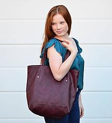 Veľké tašky - Ala (taška) vínovobordová - 11074203_