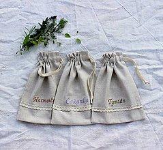 Úžitkový textil - Vrecko na bylinky malé - 11074333_