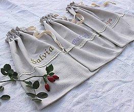 Úžitkový textil - Vrecko na bylinky veľké - 11074336_