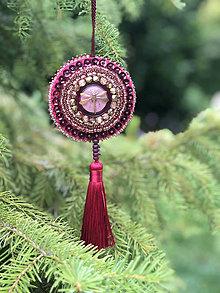 Dekorácie - ozdoba růžovozlatá vážka no.113 - 11071627_