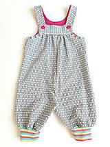 Detské oblečenie - Tepláky na traky (74) - 11072977_