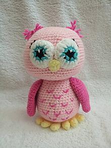Hračky - Ružová sova - 11072025_