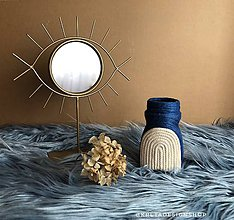 """Dekorácie - """"Obnia"""" recyklovaná váza - 11073935_"""