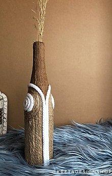 "Dekorácie - ""SeaShell"" recyklovaná váza - 11074032_"