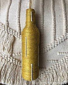 """Dekorácie - """"Mustardia"""" recyklovaná váza - 11074076_"""