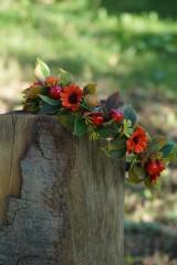 Ozdoby do vlasov - Čelenka - Jesenný čas - 11073451_