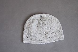 Detské čiapky - háčkovaná čiapočka - 11073134_