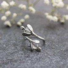 Prstene - Nevestin závoj v bielej - prsteň - 11072902_