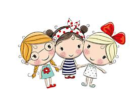 Galantéria - Nažehľovačka Tri kamarátky - 11072128_