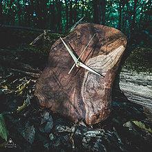 Hodiny - RAW 2 - Akáciové drevené hodiny - 11073918_