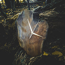 Hodiny - RAW 1 - Teakové drevené hodiny - 11073952_