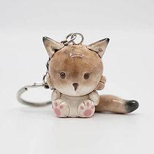 Kľúčenky - Rys ostrovid (Lynx) - kľúčenka (na objednávku) - 11072865_